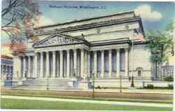 National Archives Postcard