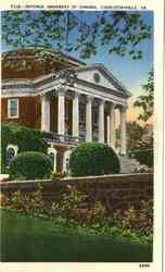 Rotunda University of Virginia Postcard