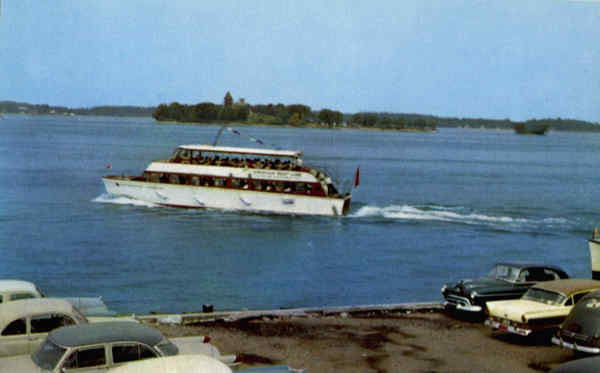 The American Adonis The American Boat Line Thousand Islands New York