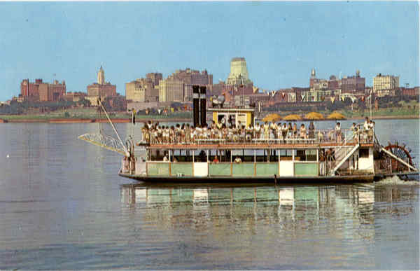 The Memphis Queen II Riverboats
