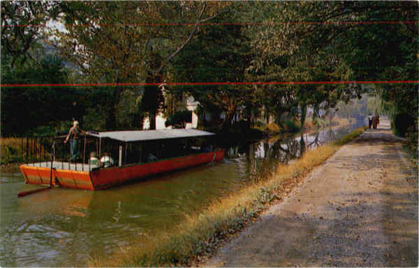Barge Ride on the Delaware Canal, New Hope Bucks County Pennsylvania