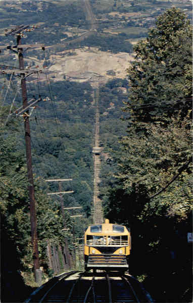 Looking Down The Incline, Lookout Mountain Chattanooga Tennessee