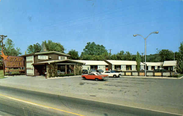 Star Motel, Highway 11E & 411 Greeneville Tennessee
