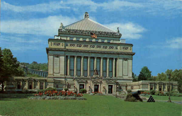 Soldiers and Sailors Memorial Hall Pittsburgh Pennsylvania