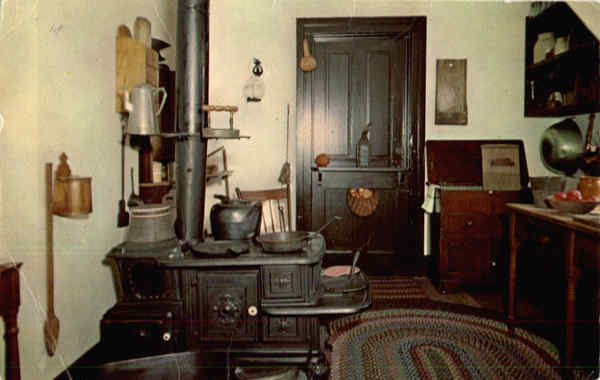 Kitchen, Abraham Lincoln's Home Springfield Illinois