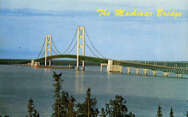 The Mackinac Bridge Michigan