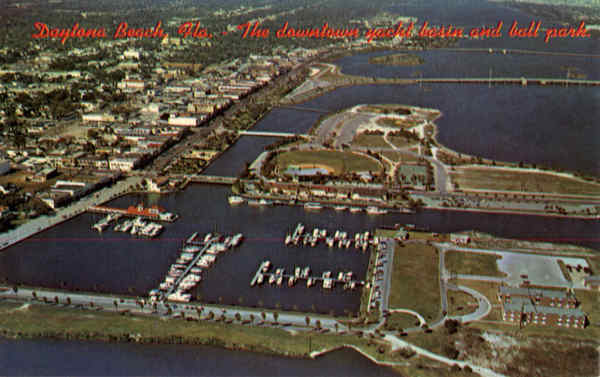 Downtown yacht basin Daytona Beach Florida