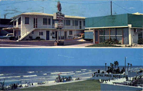 Tall Pines Oceanfront Motel, So. Atlantic Avenue Daytona Beach Florida
