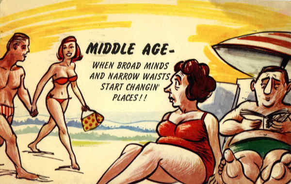 Middle Age Comi...