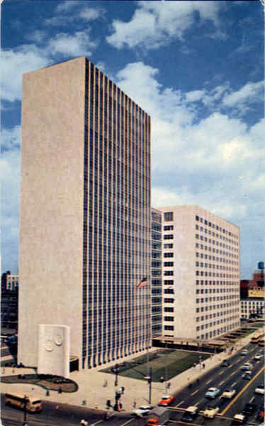 The New City-County Building Detroit Michigan