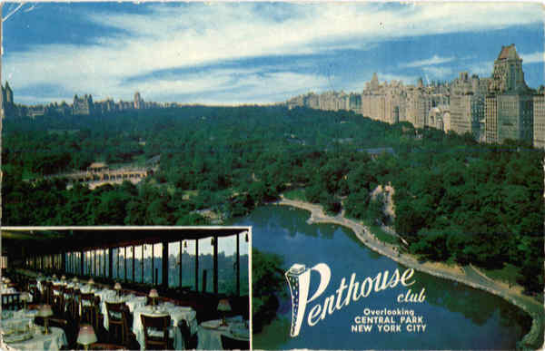 Penthouse Club, Central Park South New York City