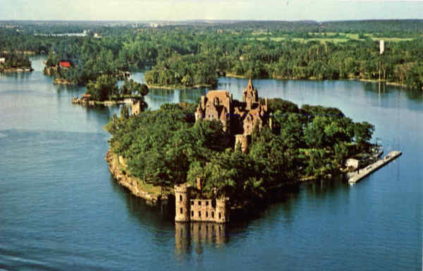 Boldt Castle on Heart Island Thousand Islands New York