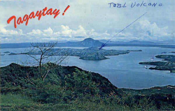 Taal Lake and Volcano Luzon Philippines Southeast Asia