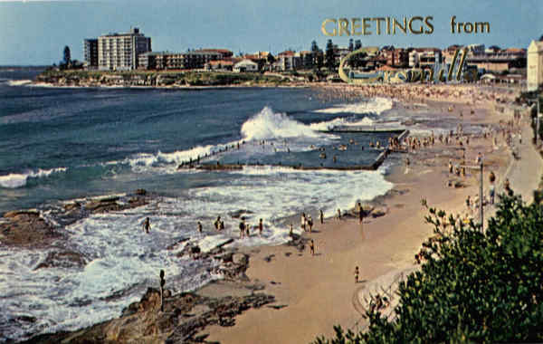 Greetings From Cronulla Beach Sydney Australia Australia, NZ, South Pacific