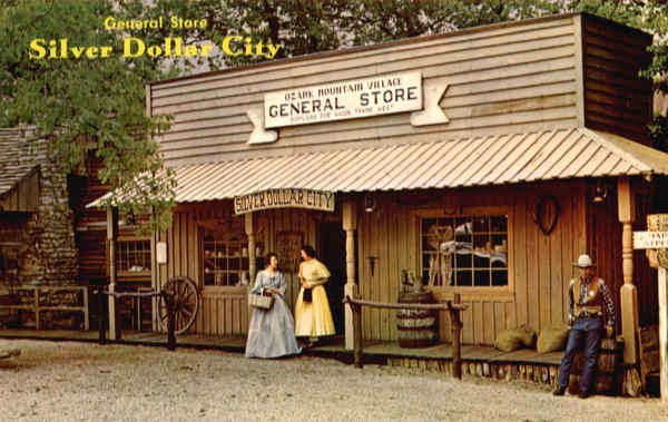 General Store Silver Dollar City Missouri
