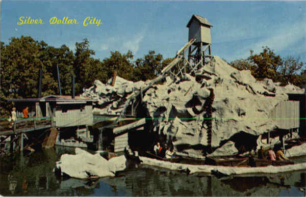 The Flooded Mine at Silver Dollar City Missouri