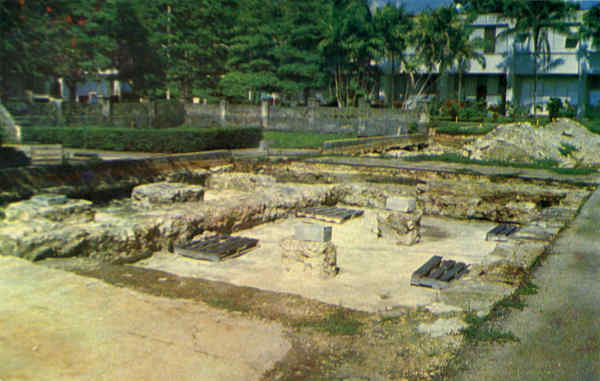 Exploratory Ruins of Governor's Palace Guam Southeast Asia