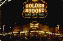 The Millon Dollar Golden Nugget Gambling Hall, Saloon and Restaurant