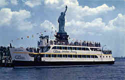 Statue of Liberty and Ferry