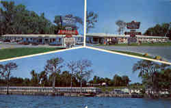Tangerine Cove Motel & Restaurant, U.S.Hwy. 17- Located N. City Limits Postcard