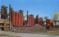 Blast Furnaces of the National Tube Company