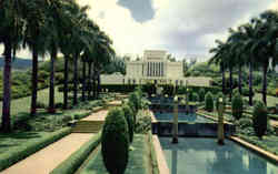 Mormon Temple in Hawaii