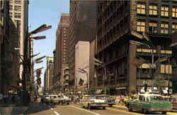 State Street Looking North Postcard