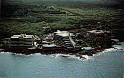 The spectacular Kona Hilton Beach & Tennis Resort on the famous Kona Coast-Hawaii