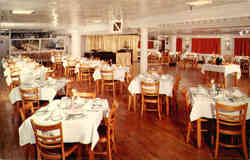 Dining Room of the S.S. Delta Queen