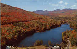 Adirondack Mountain Lake in Autum