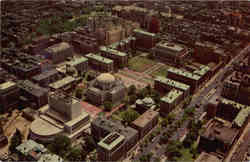 Aerial View of Columbia University Section