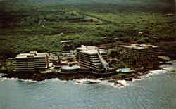 The spectacular Kona Hilton on the famous Kona Coast