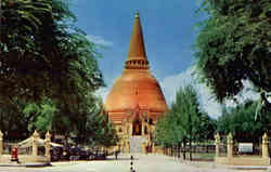 The temple of Buddhism