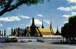 The most beautiful temple in Thailand Postcard