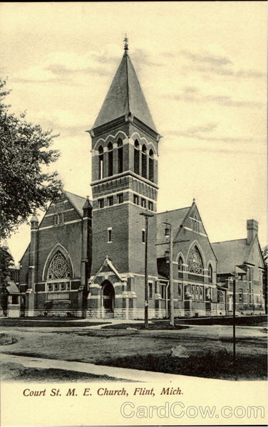 Court St. M.E. Church Flint Michigan