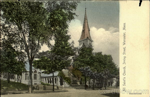 All Saint's Church, Jrving Street Worcester Massachusetts