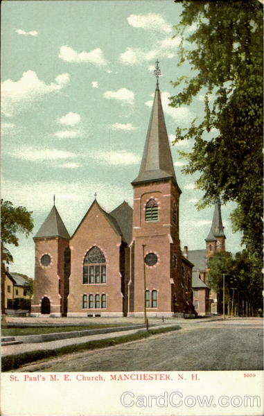 St. Paul's M. E. Church Manchester New Hampshire