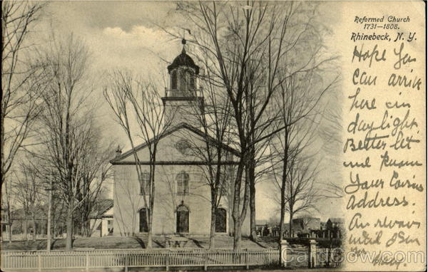 Reformed Church (1731-1808) Rhinebeck New Jersey