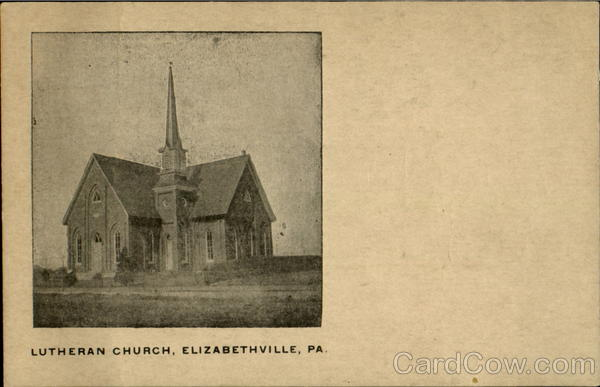 Lutheran Church Elizabethville Pennsylvania