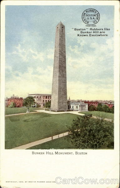 Bunker Hill Monument Boston Massachusetts
