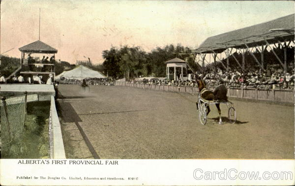 Alberta'S First Provincial Fair Canada Horse Racing