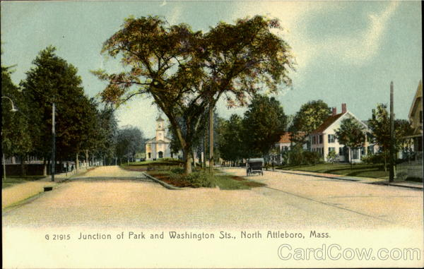 Junction Of Park And Washing Sts North Attleboro Massachusetts