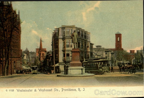 Westminister & Weybosset Sts Providence Rhode Island