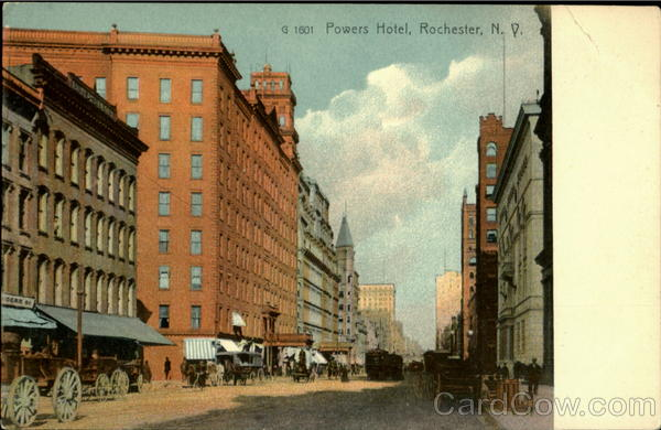 Powers Hotel Rochester New York