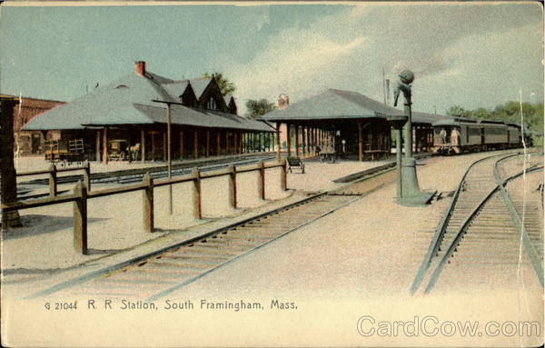 R. R. Station South Framingham Massachusetts