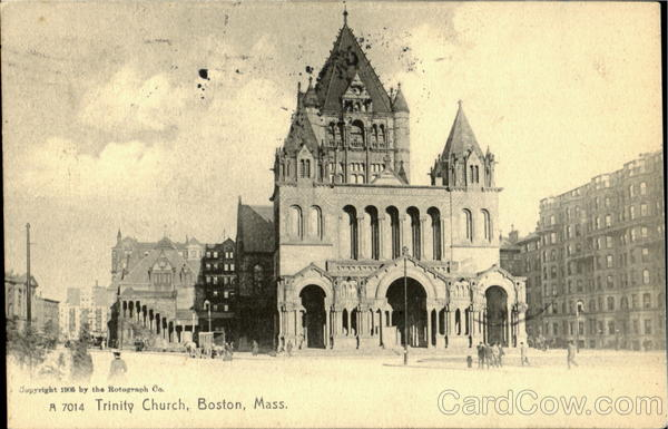 Trinty Church Boston Massachusetts