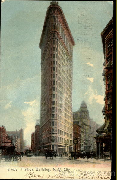 Flatiron Building New York City N.Y. City