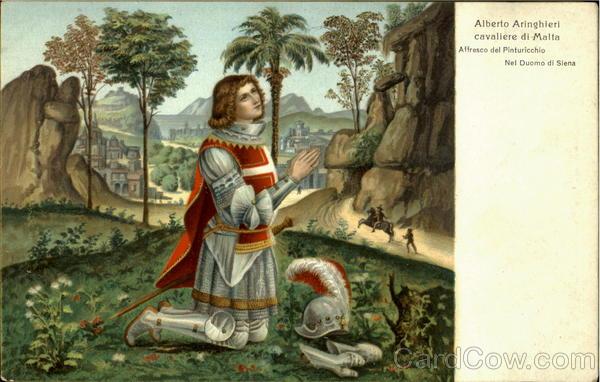 Alberto Aringhieri Cavaliere Di Malta Art