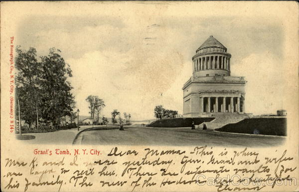 Grant'S Tomb New York City N. Y. City