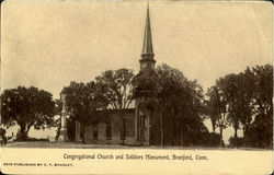 Congragational Church and Soldiers Monument